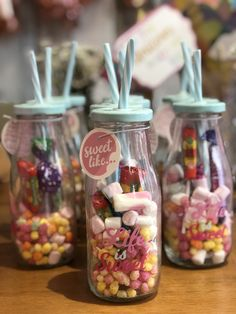 Unicorn Themed Birthday Party on a Budget - Lucky Plot 13 Unicorn Themed Birthday Party, Unicorn Party, Birthday Party Themes, Party Favors, Budget, Sweet, Thrifting, Sweet Jars