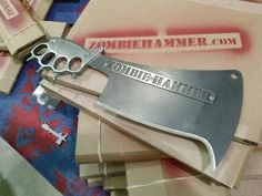 For the next Zombie apocalypse: Street Cleaver by Zombie Hammer