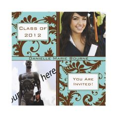 Class of 2012 Senior Graduation Invitation & Gifts from http://www.zazzle.com/2012+senior+invitations