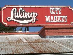 Luling: Luling City Market, Real Texas Bar-B-Que