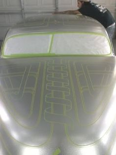 Click this image to show the full-size version. Custom Motorcycle Paint Jobs, Custom Paint Jobs, Custom Cars, Lace Painting, Air Brush Painting, Painting Patterns, Car Paint Jobs, Truck Paint, Pinstriping
