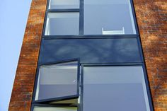 Teroco VELFAC V200i Aluwood Windows and Doors. Thermally broken Aluminium externally. Solid natural timber internally. For Quotes T: 014039999