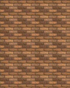 Bricks. Loads of stuff on this site, including other bricks. I could see this working as brick walls, or street paving, or roofing tiles. From Jennifer's Printables.