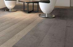 concreate wall floor panel create modern living Plank Flooring, Floors, Modern Living, Tile Floor, Rest, Board, Wall, Furniture, Design
