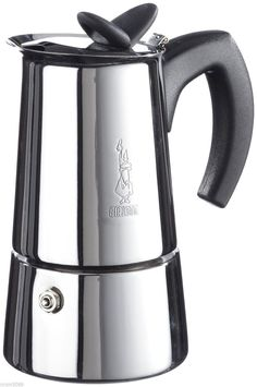 Shop Bialetti - Musa Polished Espresso Maker 2 Cup at Peter's of Kensington. View our range of Bialetti online. Why in the world would you shop anywhere else for Bialetti? Best Espresso Machine, Espresso Maker, Espresso Cups, Espresso Coffee, Coffee Coffee, Best Coffee Maker, Coffee Shop, Coffee Club, Coffee Pot Cleaning