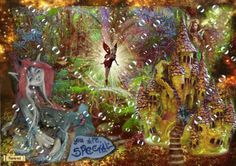 The Continent of Sulina Party Places, Another World, Faeries, Continents, Gallery, Painting, Fairies, Painting Art, Sprites