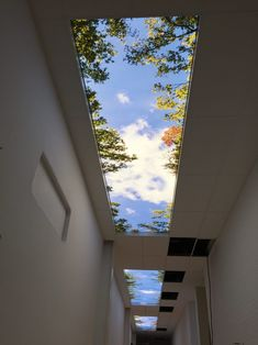 Simple False Ceiling Design, Sky Ceiling, Home Stairs Design, Window Graphics, Hospital Design, House Stairs, Eindhoven, Skylight, Interior Decorating