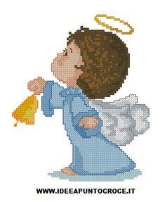 angelo punto croce