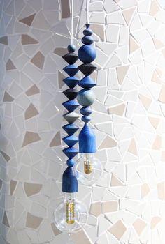 Indigo pendants - by Marz Designs