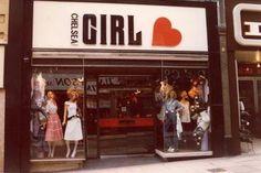 Chelsea Girl boutique - Kings Road, London, 1960s