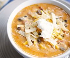 This Chicken Enchilada Chili is the bomb! You absolutely need this soup in your life!