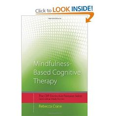 Mindfulness-Based Cognitive Therapy (MBCT) is increasingly used in therapeutic practice. It encourages clients to process experience without judgement as it arises, helping them to change their relationship with challenging thoughts and feelings, and accept that, even though difficult things may happen, it is possible to work with these in new ways.