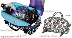 Sassy Caddy Ladies Fitness Tote Bags : FairwayGolfUSA.com
