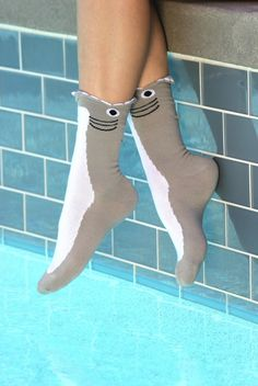 these socks are sure to make a splash