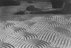 """sand garden #1"" - photograph by Paul Caponigro"