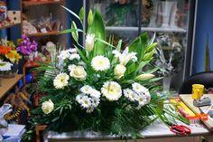 Kompozycje kwiatowe do kościoła na ślub czyli... pracuję tylko do drugiej w nocy