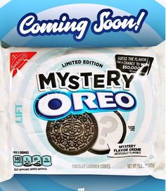 Mystery Oreo..guess the filling flavor ???