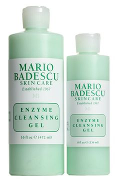 Obsessed with this Mario Badescu Enzyme Cleanser from the Anniversary Sale.   How to use: Twice daily, massage the gel in a circular motion on wet skin, avoiding the eye area. Rinse with tepid water. Pat dry and follow with a toner or astringent.