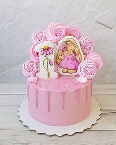 Cake Fondant Girl Design 60 Ideas For 2019 Buttercream Cupcakes, Girl Cupcakes, Wedding Cakes With Cupcakes, Fun Cupcakes, Cool Birthday Cakes, Birthday Cake Girls, Fondant Decorations, Birthday Decorations, Fondant Girl