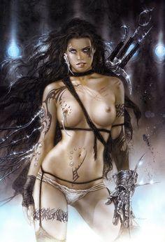 Subversive beauty. (Royo)