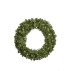 Vickerman Grand Teton Wreath with 200 Dura-Lit Lights