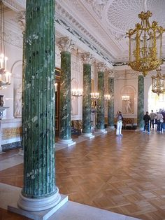 The Greek Hall at Pavlovsk Palace