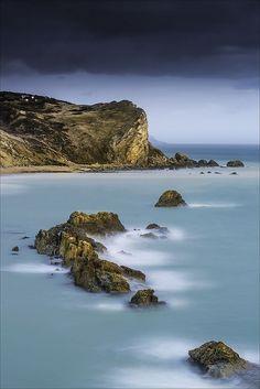 Ocean View -- St Oswalds Bay, Jurassic Coast, Dorset, England, UK
