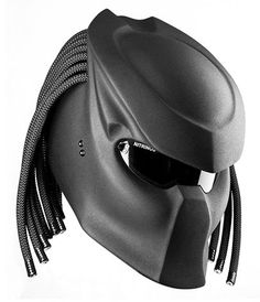 Predator  Motorcycle Helmet by Nitrinos