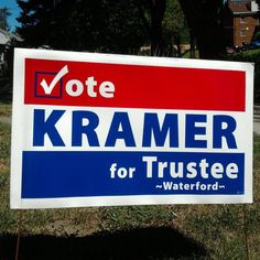 He is NOT a YES man to the Twp. Supervisor