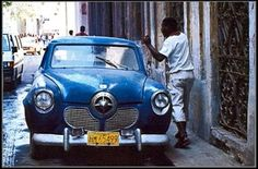 Havana, Cuba (old cars) - a photo by Fernando Abreu