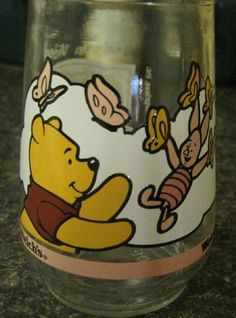 Welch's Winnie The Pooh's Grand Adventure Collectable Jelly Glass Jar#3