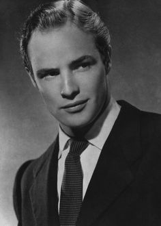 Marlon Brando #Brando headshot #headshot