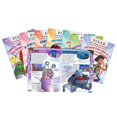 Pixar The Ultimate Collection 8 Books Box Set, Brave, Up, Cars...