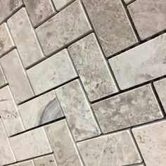 herringbone mosaic silver grey polished finish 799 sqft tile