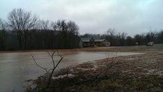 12/27/15  Pond is full!