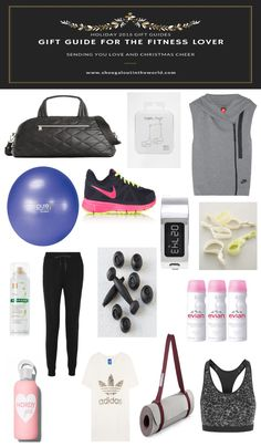 Shoegal Out In The World Holiday 2015 Gift Guides // Gift Guide for the Fitness Lover