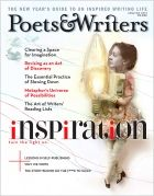 January/February 2012 | Poets & Writers Magazine | The Inspiration Issue. Cover illustration by Polly Becker.