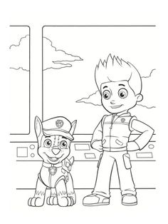 Cute Paw Patrol Colouring Pages To Download And Print For The Kids See More Coloriage Pat Patrouille 30 Dessins A Imprimer Gratuitement
