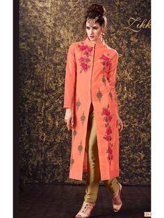39686e2e7a Loud Fire Orange Designer Salwar Kameez Wedding Salwar Kameez, Patiala  Salwar, Churidar Suits,