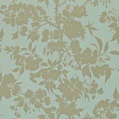 Harlequin - Designer Fabrics and Wallcoverings Duck Egg Blue Wallpaper, Harlequin Wallpaper, Fabric Wallpaper, Master Bedroom Interior, Interior Decorating, Interior Design, Blue Wallpapers, Black Fabric, Enchanted