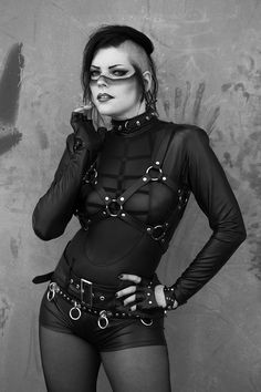 Photo : Ulrich Waschul Model, Make-up : Gatto Nero Katzenkunst Welcome to Gothic and Amazing   www.gothicandamazing.com