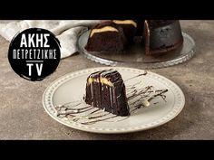 Κέικ με Γέμιση Cheesecake Επ. 4 | Kitchen Lab TV | Άκης Πετρετζίκης - YouTube Greek Recipes, Sweets, Desserts, Youtube, Food, Kitchen, Tailgate Desserts, Deserts, Cooking