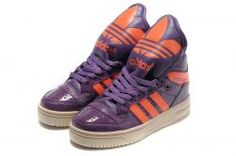 Adidas Originals JS Metro Attitude Logo Purple Orange | 3K-Store