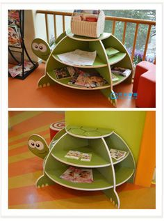 Creative Bookcases for Children