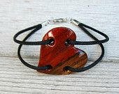 ♥★♬ Check out this beautiful #shop ♥★♬ > The Lotus Shop ☆◠‿◠☆     > #Wood #Jewelry, #Dishcloths & #Men's #Jewelry >     http://www.etsy.com/shop/TheLotusShop?ga_search_query=wood%2Bstar    Wood Heart Necklace - South American Bloodwood - Womens Jewelry. $16,95, via Etsy.