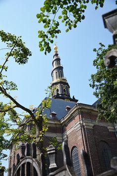 Vor Frelsers Kirke - lovely church in Christianshavn.   Copenhagen Diary.