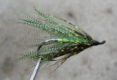 Chartreuse Mallard Spey Salmon and Steelhead Fly