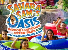 I entered to win a Family Four Pack to Sahara Sam's @Mommy Poppins