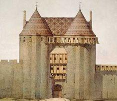 Viollet-le-Duc, aquarelle. Coll. Geneviève Viollet-le-Duc. Cl. Philippe Berthé ©…