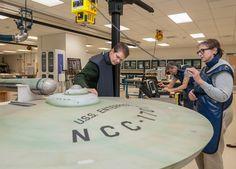 Staff x-ray the Star Trek Studio Model: USS Enterprise (NCC-1701)